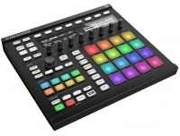 Native Instruments Maschine Mk2 Blk - Грув-контроллер и инструмент, 16 пэдов RGB, 9 энкодеров и 2 дисплея