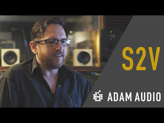 ADAM Audio at with Matt Parmenter on his S2V Monitors