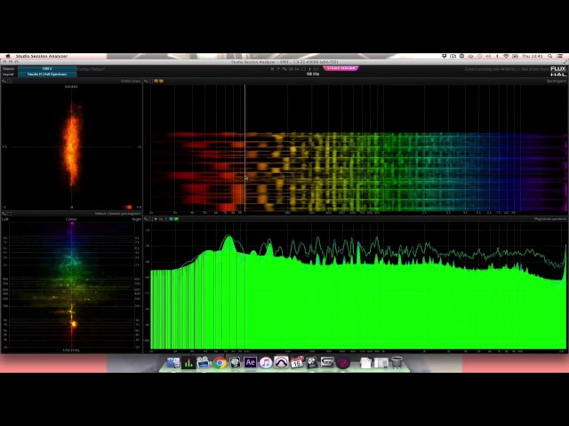 Focusrite // Plug-in Collective - Flux Studio Session Analyzer