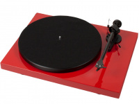 Pro-Ject DEBUT CARBON PHONO USB (DC) (OM10), RED по цене 28 000 руб.