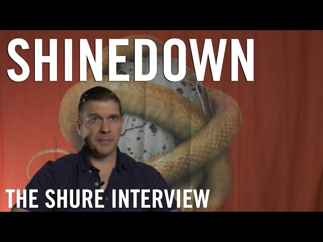 Shinedown - The Shure Interview