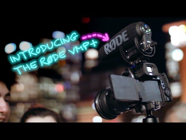 Introducing the RØDE VideoMicPro+