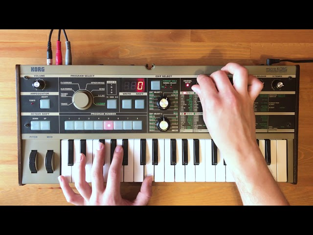Patch of the Week 21: microKORG Funk Bass