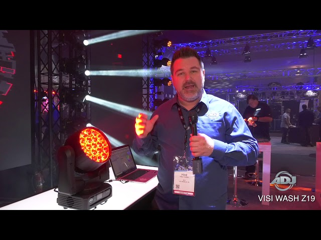 "ADJ ""First Look"" - Vizi Wash Z19 at NAMM 2019"