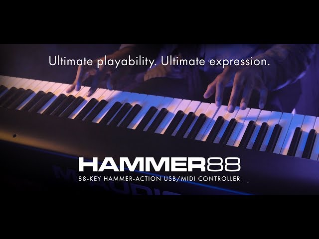 Introducing M-Audio Hammer 88 feat. Joel Holmes