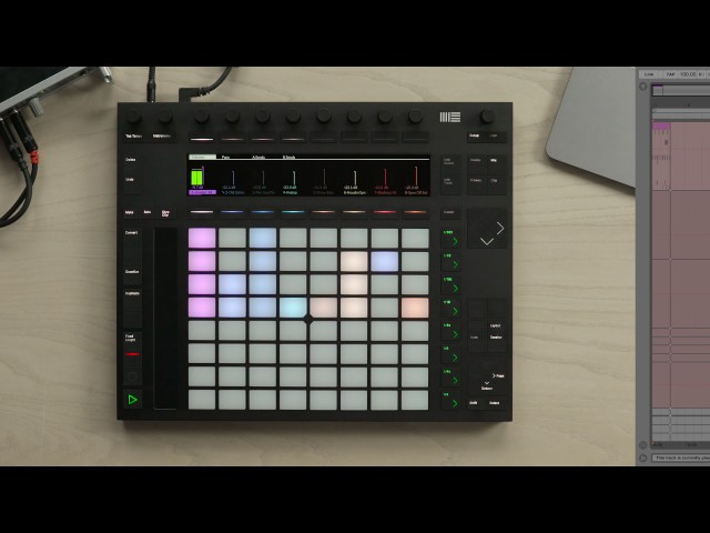Ableton Push 2 – Recording in the Arrangement View
