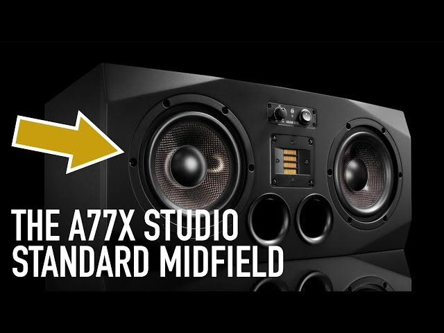 ADAM Audio | In the Studio with the A77X & Sub15