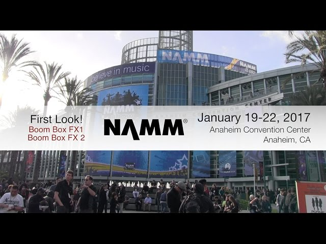 "ADJ Boom Box FX1 & Boom Box FX2 ""First Look"" NAMM 2017"