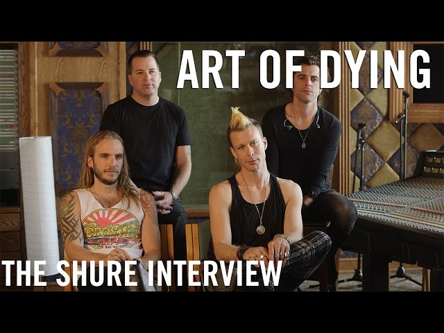 Art of Dying - The Shure Interview