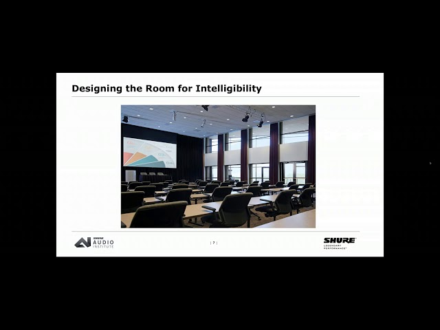 Shure Webinar: Basic Conference Room Design