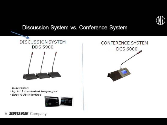 Shure Webinar - An Introduction to DIS
