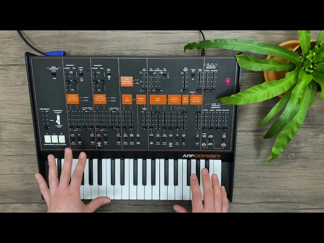 Patch of the week 36: ARP Odyssey – Basics and Getting Started + Duophonic Play