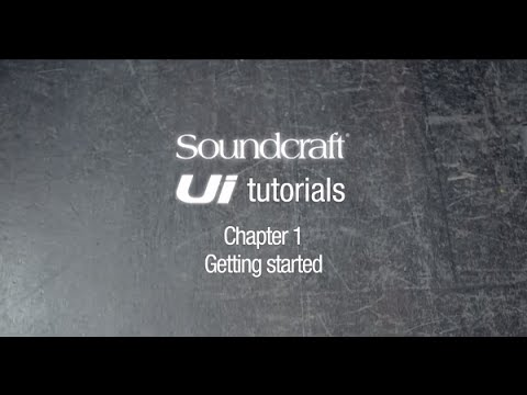 Soundcraft Ui Series Tutorial Chapter 1: Unboxing and getting started.