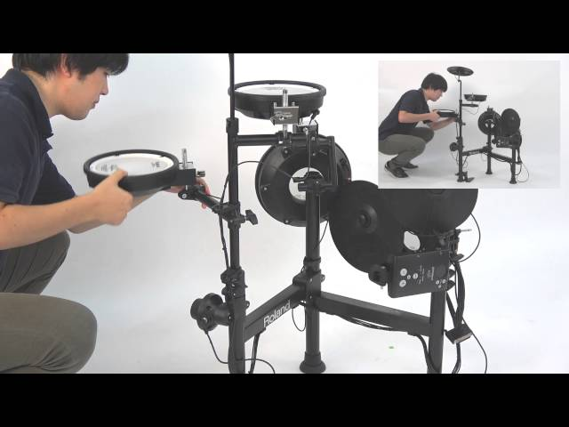"Roland TD-1KPX ""Extending for Use"""