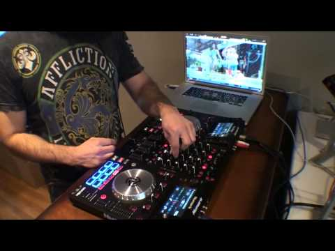 Numark NV live mix DJ POLO NYC  HipHOP Twerk mix Video mix