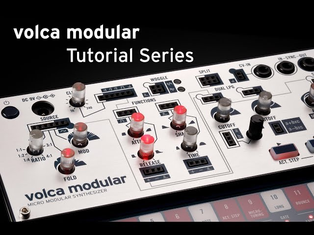 Korg volca modular Tutorial 5: Sequencer and Tuning Overview