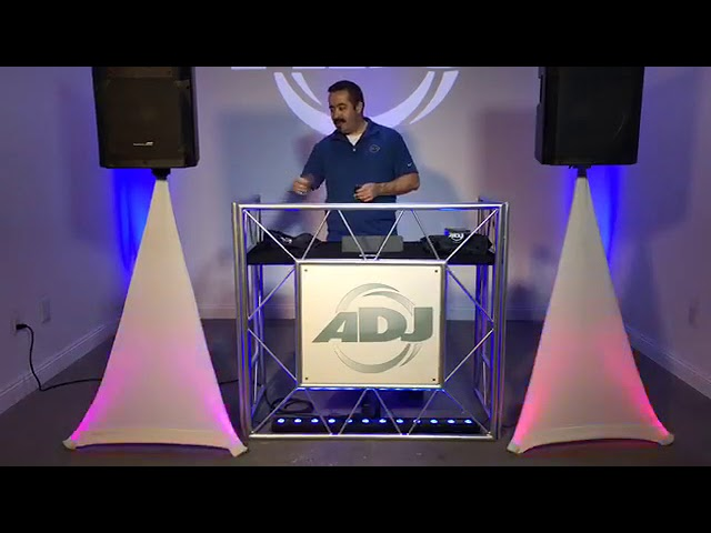 ADJ Facebook Live - Color Stand LED Demo