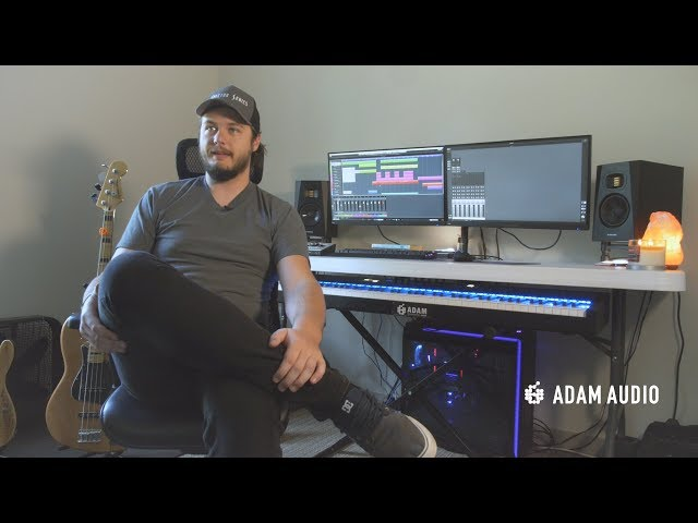 Composer Shawn Campbell on the ADAM T5V's