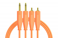 DJTT Chroma Cables Audio 1/4 - RCA Neon Orange по цене 1 552 ₽