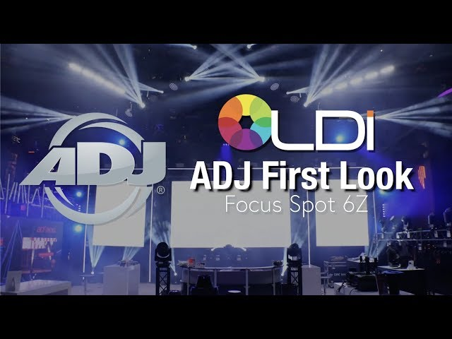 ADJ Focus Spot 6Z First Look