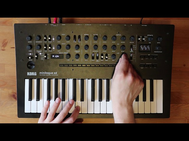 Patch of the week 13: Blade Runner style sounds for minilogue xd