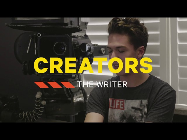 My RØDE Reel - Creators, Episode 1 - The Writer
