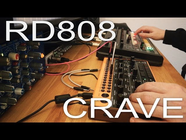 Behringer Crave & RD808 Beat Tracking Session