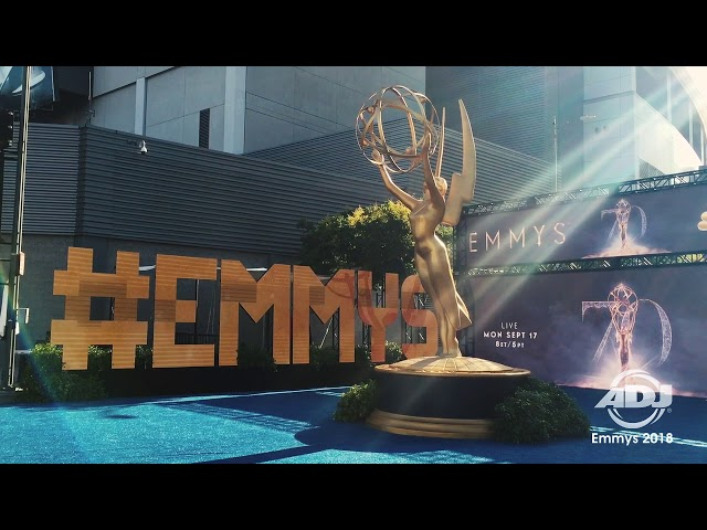 ADJ Design Series Video Panels at 70th Primetime Emmy Awards