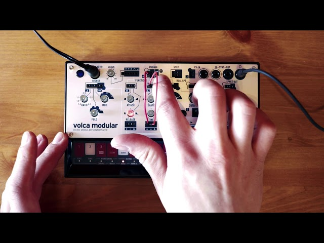 volca modular Patch of the Week 8: Portamento/Slew