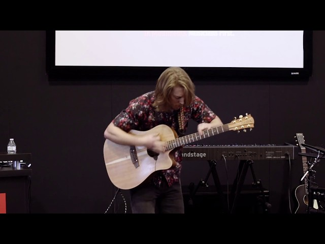 NAMM 2018: Grayson Erhard iRig Acoustic Stage Demonstration