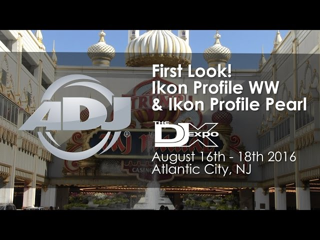 ADJ First Look! Ikon Profile WW & Ikon Profile Pearl