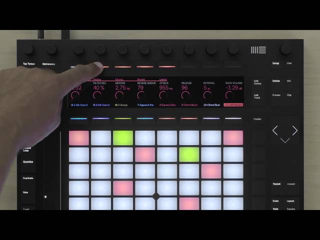 Ableton Push 2 – Sound Design Tips