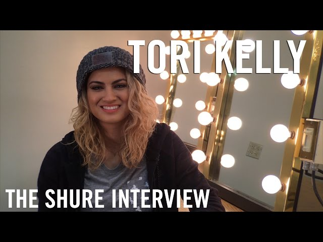 Tori Kelly - The Shure Interview