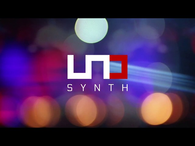 UNO Synth x DJ Rap - an analog synthesizer for everyone