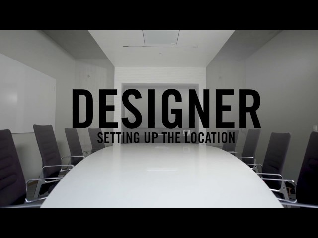 Shure Designer Tutorial 1 - Setting up the location