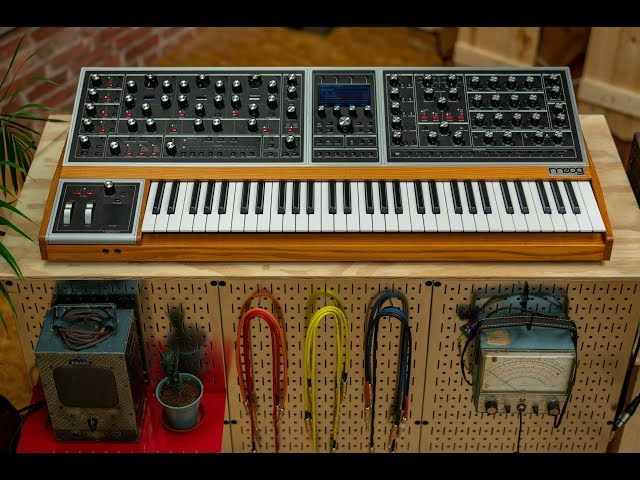 Moog Grandmother Live Build