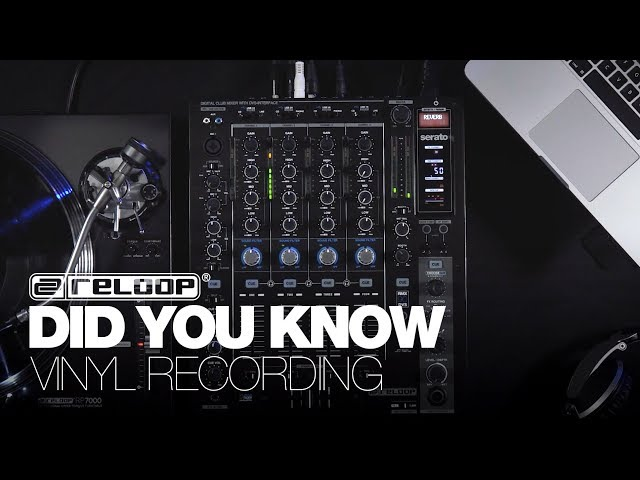 Reloop RMX 90 DVS: How To Record Vinyl – Did You Know? (Tutorial)