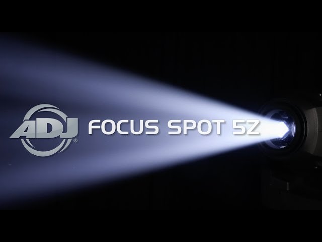 ADJ Focus Spot 5Z Sneak Peek