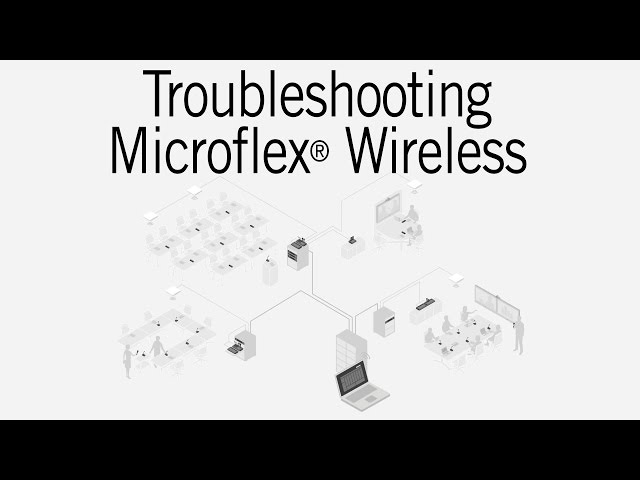 Shure Microflex Wireless: Troubleshooting Guide