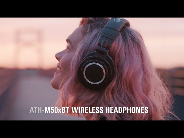 ATH-M50xBT: Wireless ATH-M50x Headphones from Audio-Technica