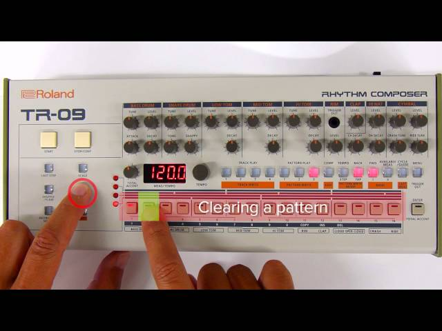 "TR-09 Quick Start 05 ""Tap Write (Realtime Recording)"""