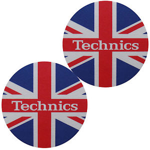 Slipmat-Factory TECHNICS UK Flag Slipmats (Пара) по цене 1 180 руб.