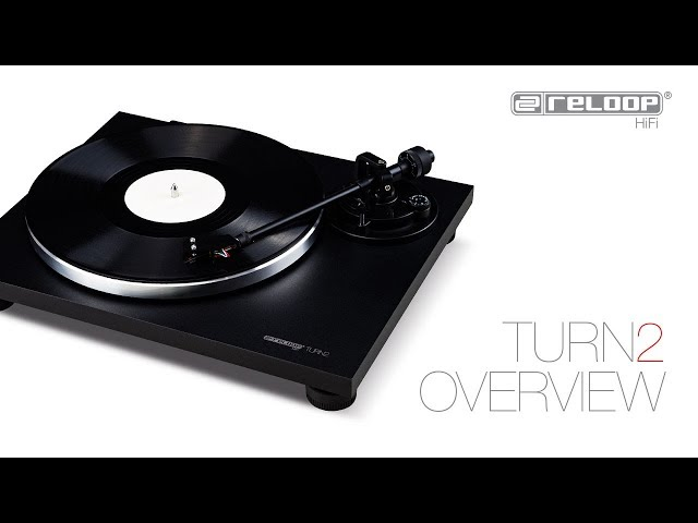 Reloop Turn 2 – Analogue HiFi Turntable For Audio Purists (Official Introduction)