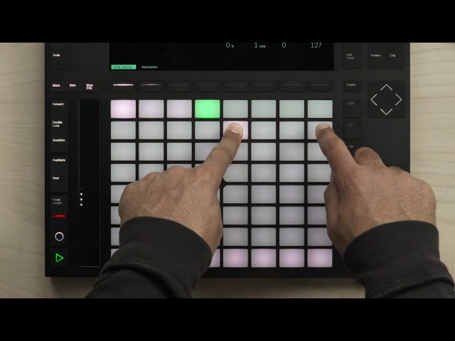 Ableton Push 2 – Note Mode and Step Sequencer in depth