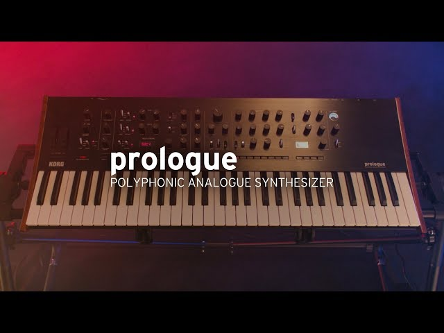 KORG prologue | A new-generation of flagship analog synthesizer (Teaser Trailer)