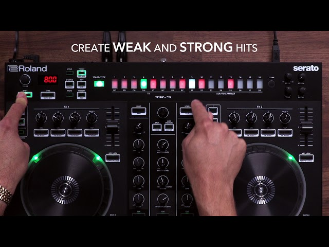 Roland DJ-505: Additional TR-S Functions