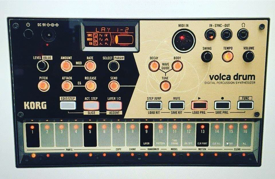 Новые Korg Volca: Micro Modular и Digital Percussion Synthesizer