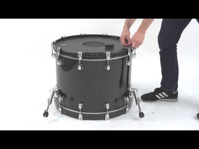 "Roland KD-A22 Kick Drum Converter ""Installing the KD-A22"""