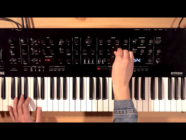 Korg Prologue Overview/Tutorial Part 4: Modulation – ADSR, LFO