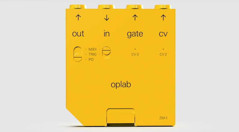 Teenage Engineering обновили OP-Z модулем oplab MIDI/CV